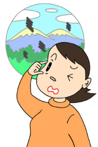 飛蚊症と血行